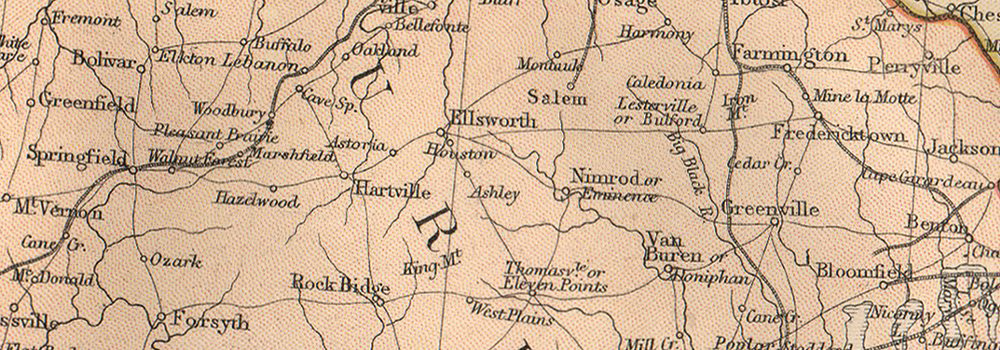 USA MISSISSIPPI VALLEY. LA AR Alabama Missouri Illinois Indiana IA WI 1882 map
